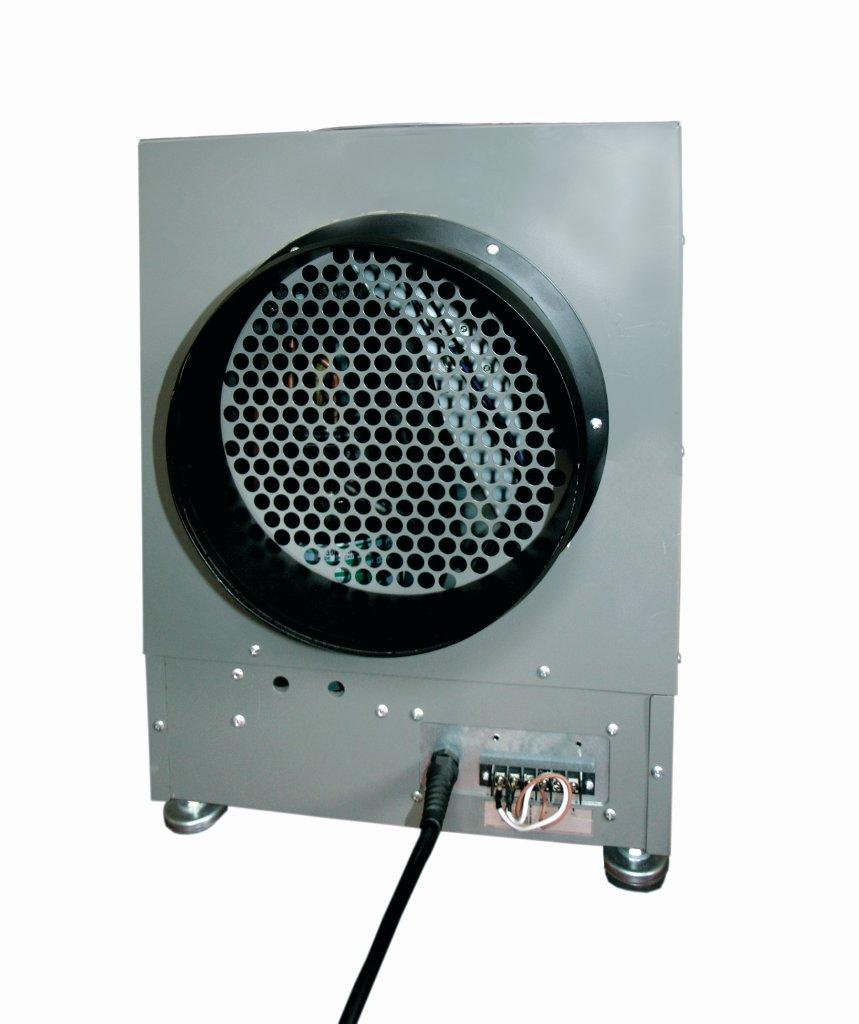LD800 grey dehumidifier used often for attics and crawl spaces in grey of metal construction