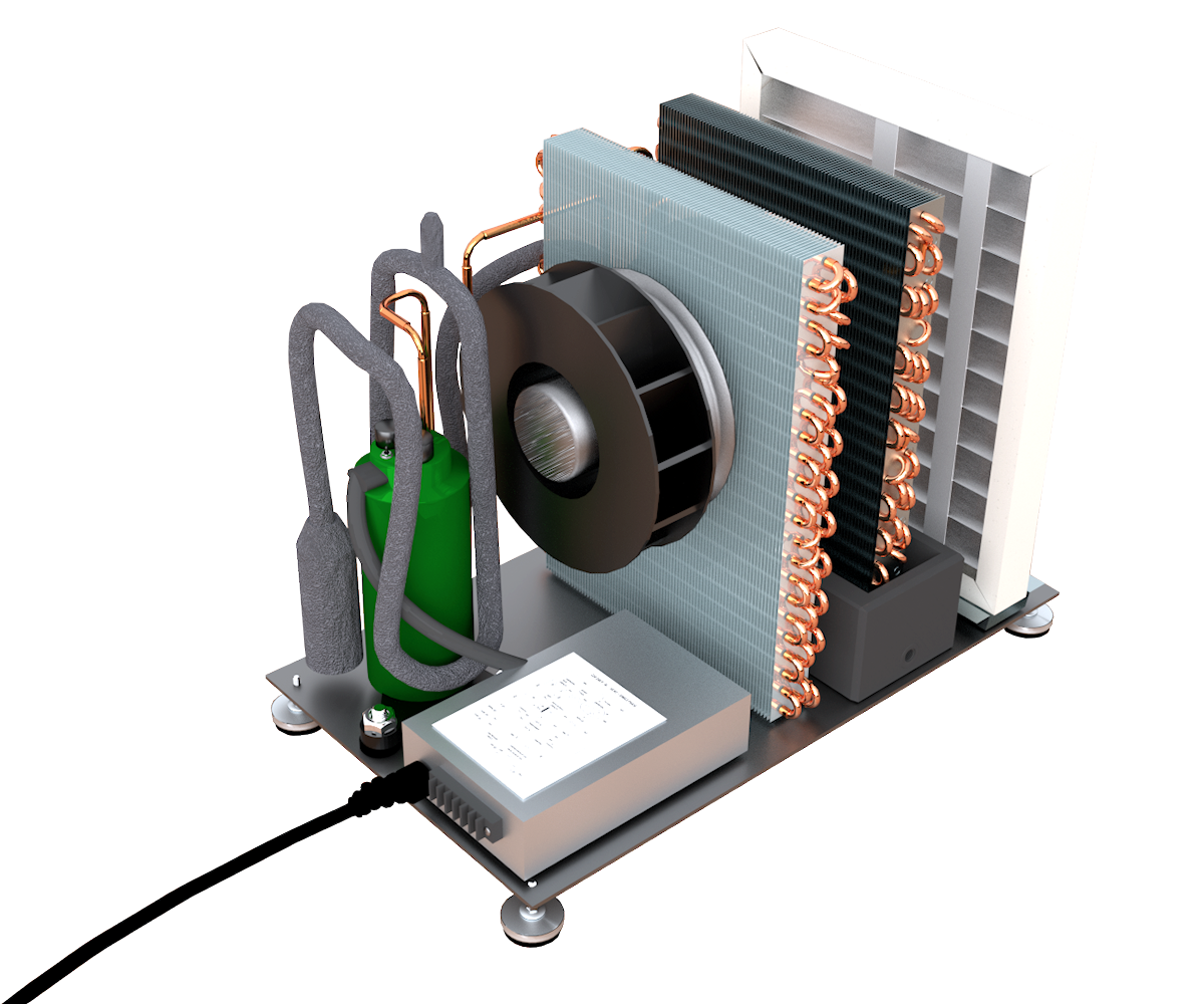 ld800 open dehumidifiers by Ecor Pro