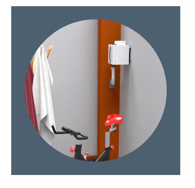 laundry room dehumidifiers by Ecor Pro