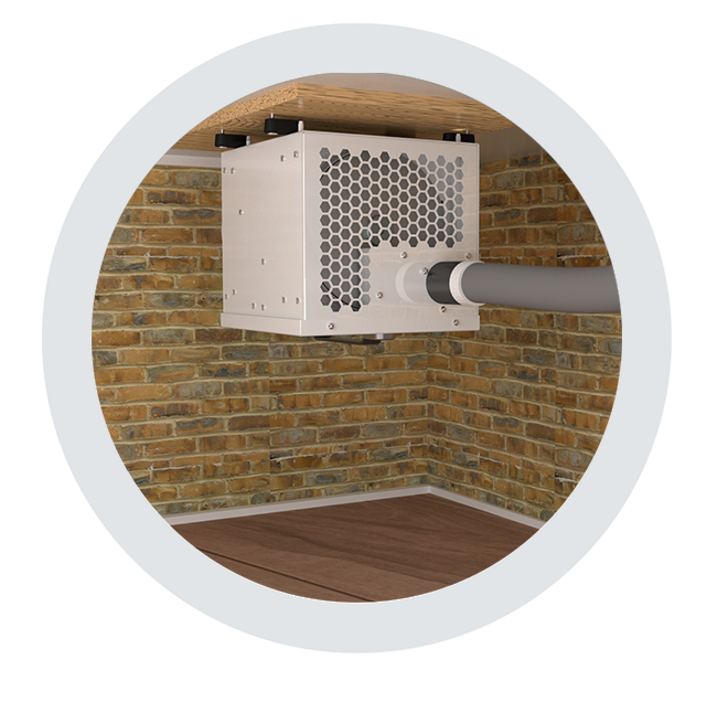 ceiling dehumidifiers by Ecor Pro