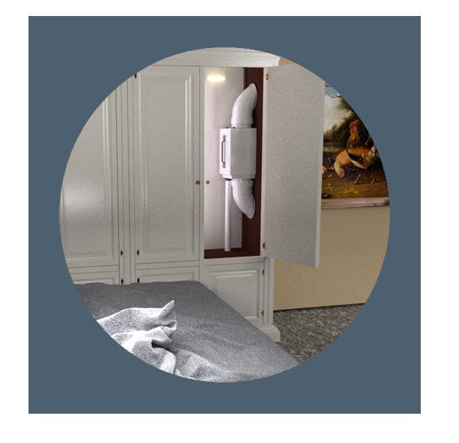 wardrobe dehumidifiers by Ecor Pro