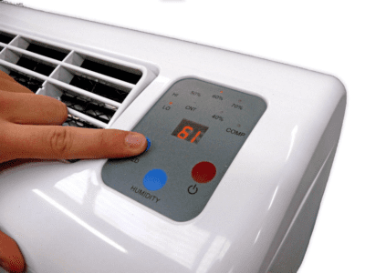 d950 control panel dehumidifiers by Ecor Pro