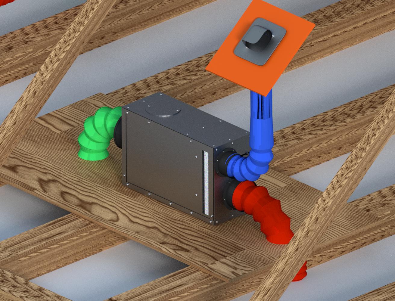 whole home dehumidifiers attic dehumidifier ld800h dehumidifiers by Ecor Pro