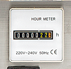 dehumidifier hour counter for humidistat on desiccant dehumidifiers by Ecor Pro