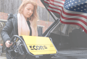 Ecor Pro dehumidifiers are portable