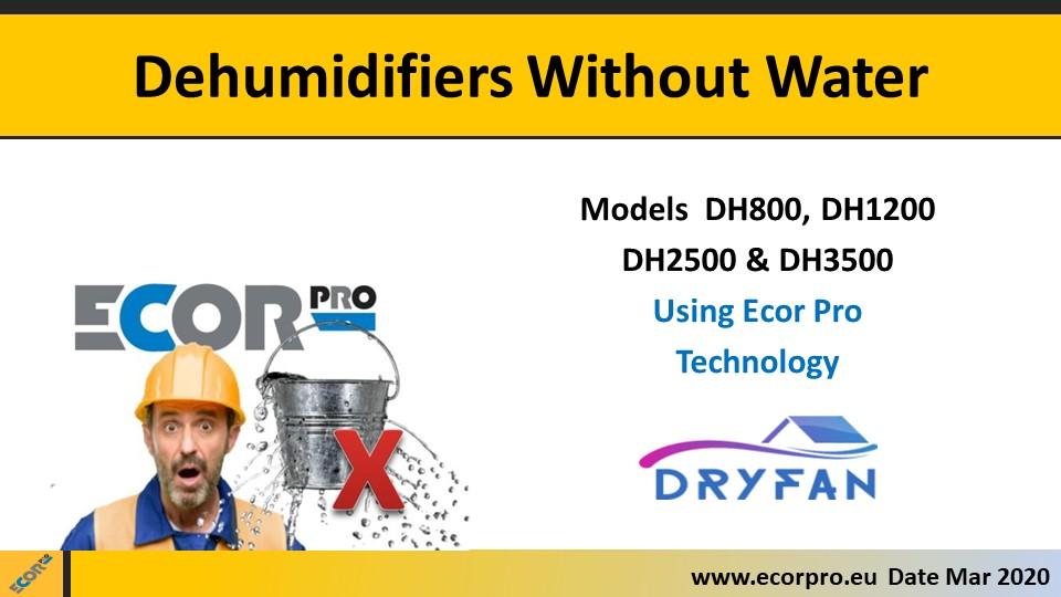 dehumidifier training slide 1