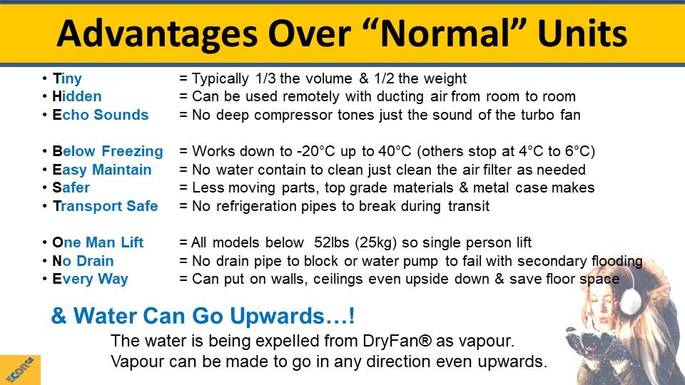 dehumidifier training slide 12