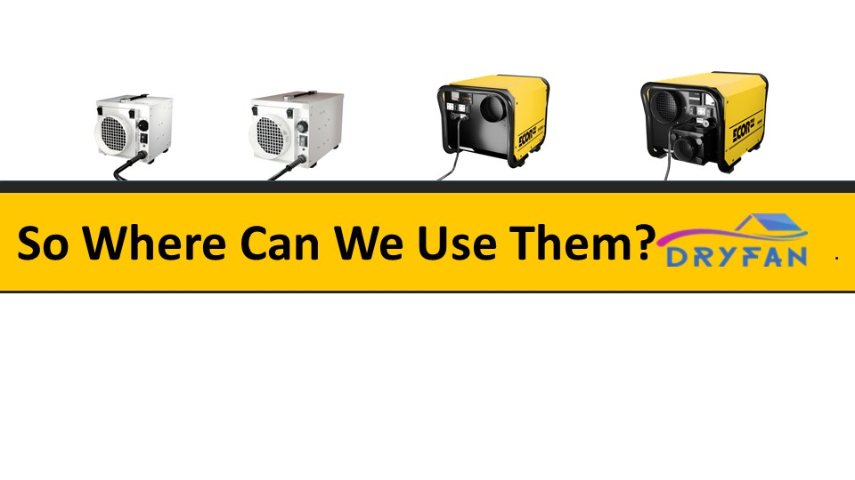 dehumidifier training slide 13