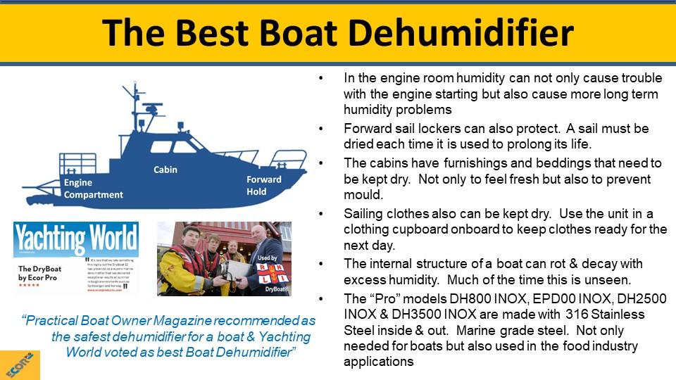 dehumidifier training slide 20