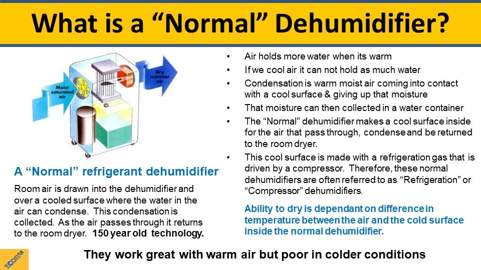 dehumidifier training slide 6
