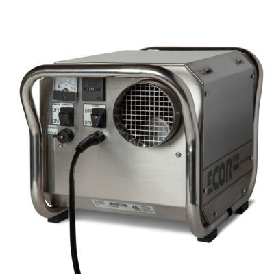 Restoration dehumidifier DH2500 that is often used on boats and for areas that require harsh cleaning such as kitchen areas