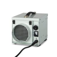 DH800 dehumidifier in white galvanised steel no water container and no drain hose
