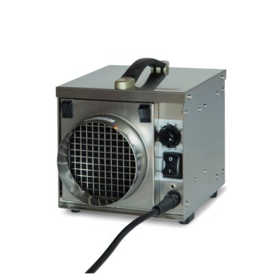 Stainless steel dehumidifier is an award winning dehumidifier seen from different angles
